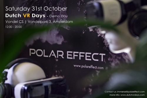 PolarEffect @ the DutchVRDays